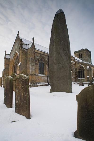 Rudston Monolith - East Yorkshire - Walk Into Prehistory