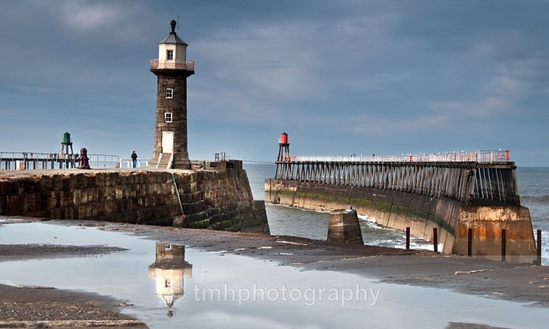Old Lighthouse at Whitby - Yorkshire Coast