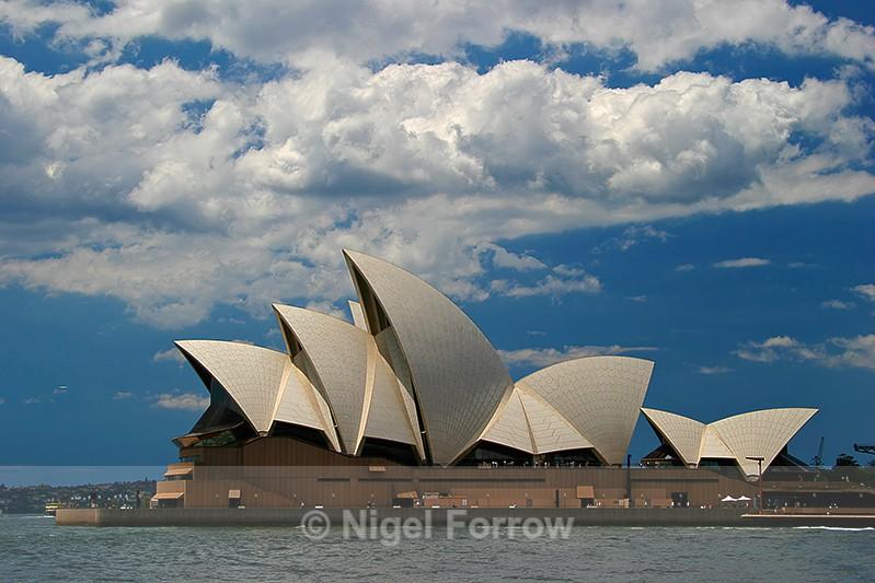 Sydney Opera House viewed from across Sydney Cove - Australia