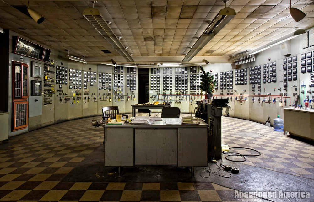 Frank R. Phillips Power Station (South Heights, PA) | Control Room - Frank R. Phillips Power Station