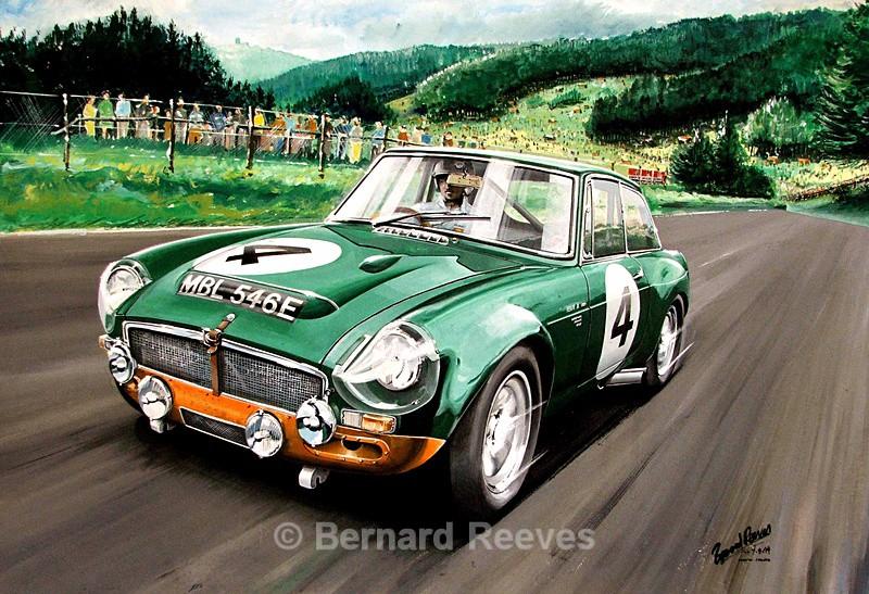 MGC at Nurburgring - Classic cars