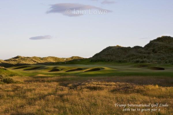 Trump GC 16th Tee to Green - Trump International Golf Links Aberdeen