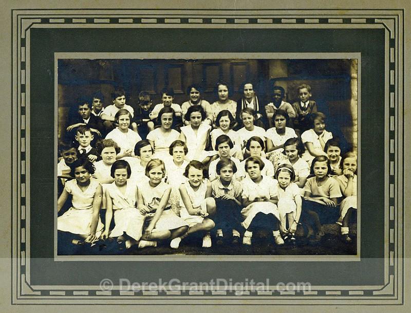 King Edward School 4th Grade Saint John, New Brunswick 1934-35 - Historic New Brunswick