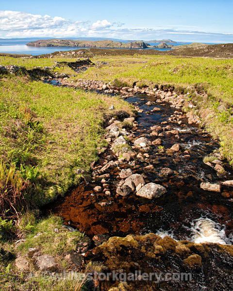 View of Summer Isles from Achiltibuie - Scottish Highlands