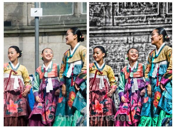 Seoul Dancers - Retouched