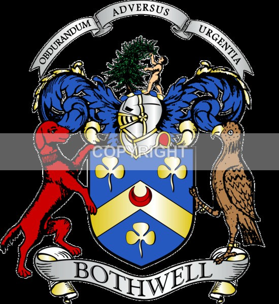 Bothwell Family - Heritage Family Name and Coat of Arms Store
