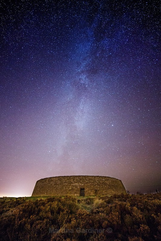 Milky Way over Griannan - Ireland by Night
