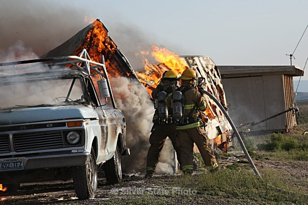 Carr Lane - Trailer Fire - Fallon/Churchill Fire Department