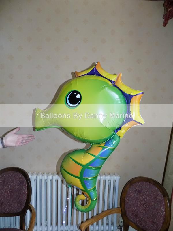 Sea Horse - Birthday Balloons