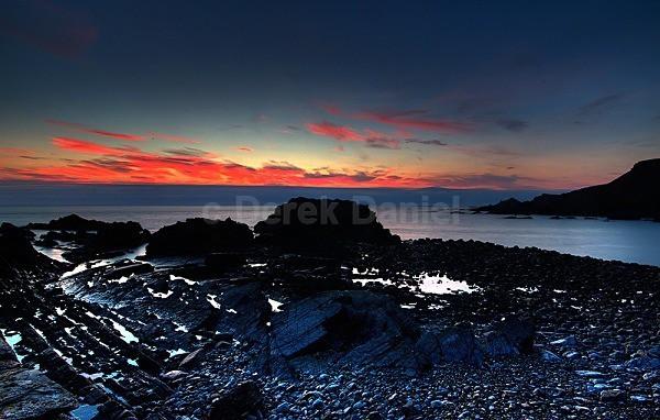 Hartland Quay sunset 2 - Devon
