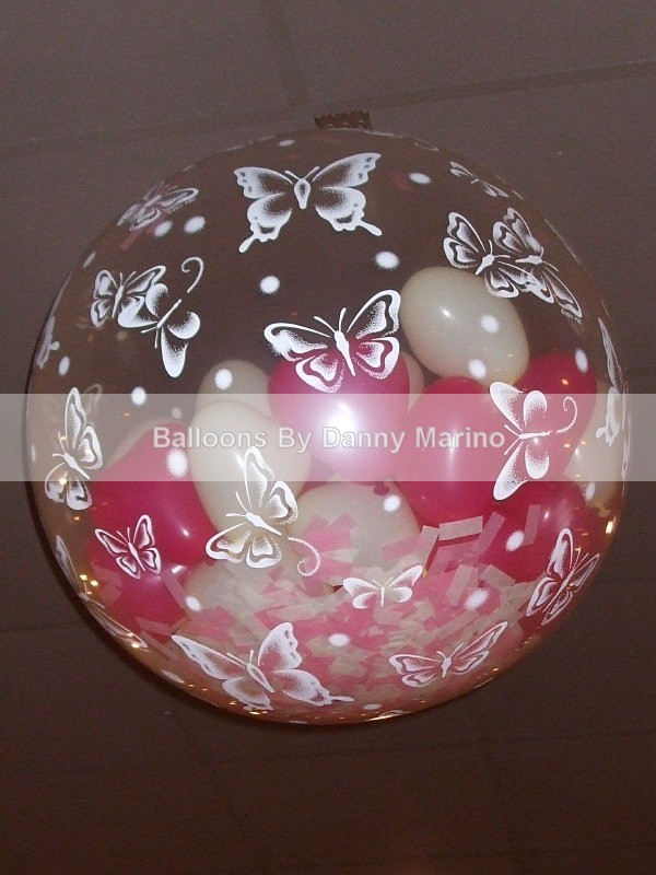 Popper balloon - Wedding Balloon Photos