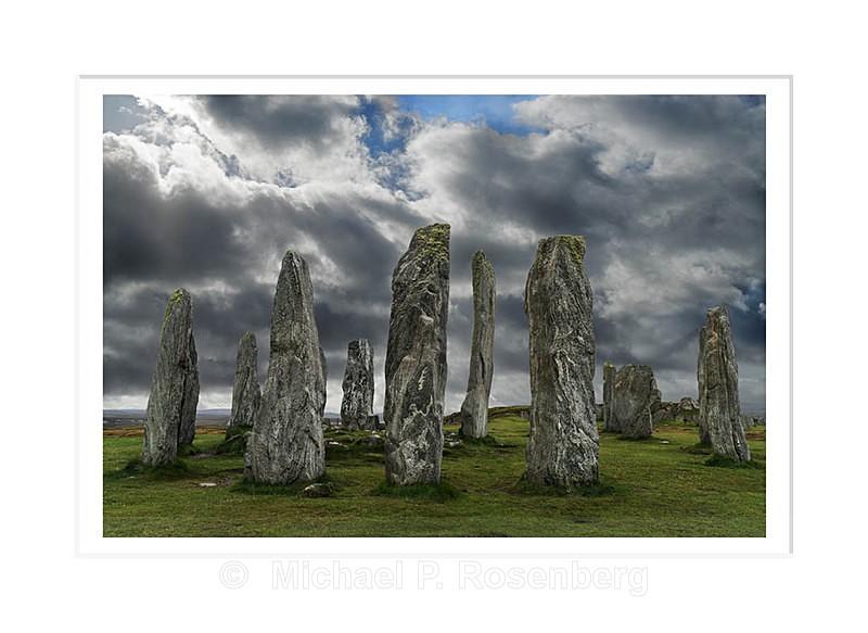 Callanish Stones, Outer Hebrides, Scotland - Scotland, UK