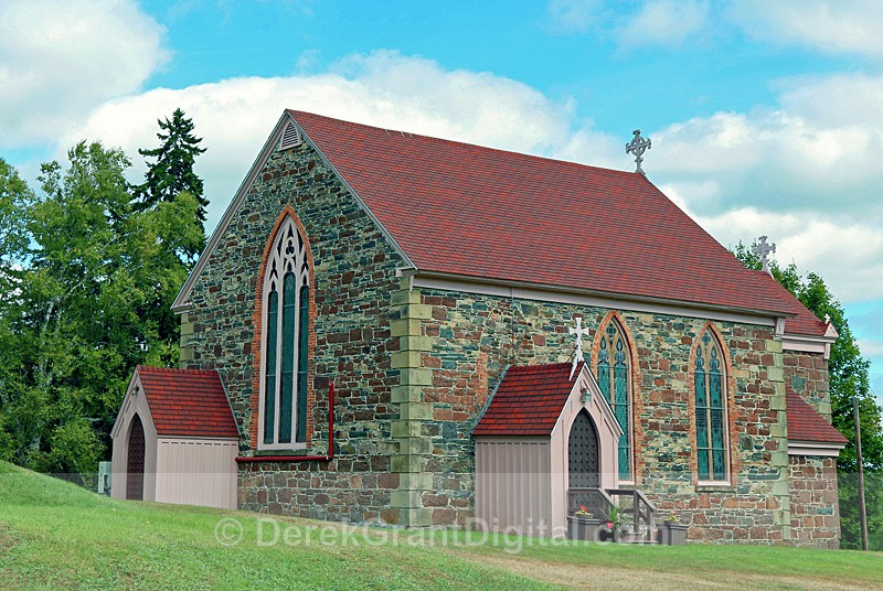 Saint John the Baptist - Chapel of Ease - Chamcook NB Canada - Churches of New Brunswick
