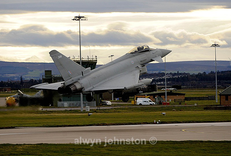 TYPHOON 18 - RAF LOSSIEMOUTH VISIT NOV 2017
