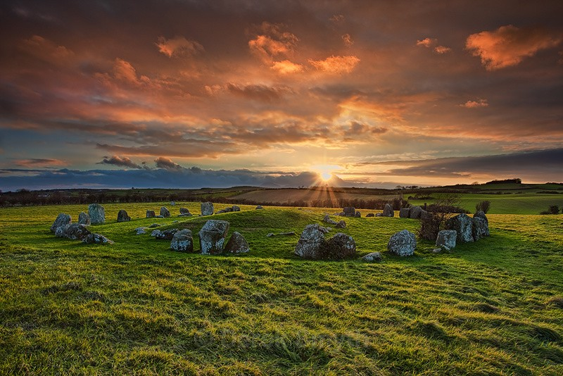 Ancient Ireland - The Stone Circle at Ballynoe in County Down
