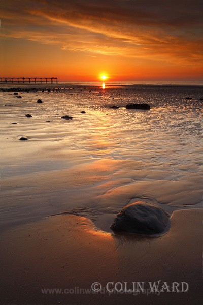 Sunset at Saltburn - North Yorkshire and Cleveland