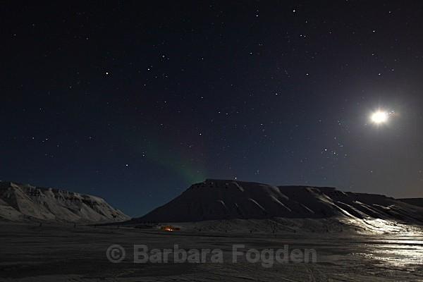 Adventdalen 9451 - Polar night
