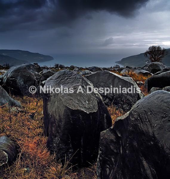 Βραχότοπος Ι Rocky landscape - Μάνη Ι Mani