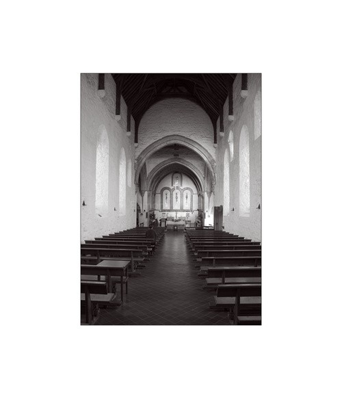 BallintubberAbbey Interior co Mayo0006 - Black and White