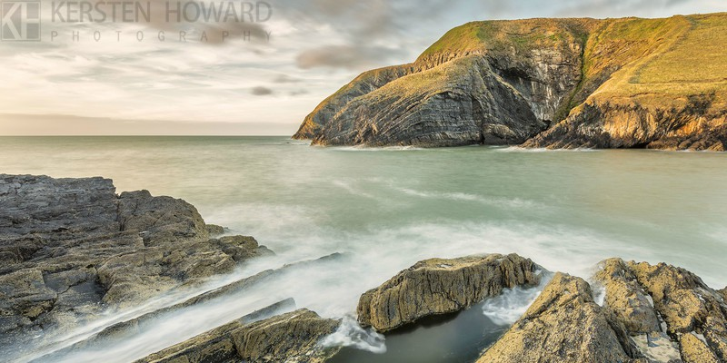 Forged in Time - Ceibwr Bay - Images from book