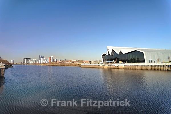 The new Riverside Museum, Glasgow. - Glasgow