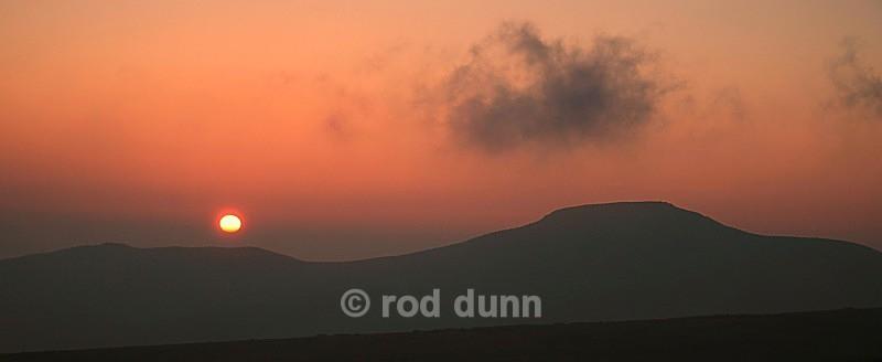 Shutlingsloe sunset - Peak District