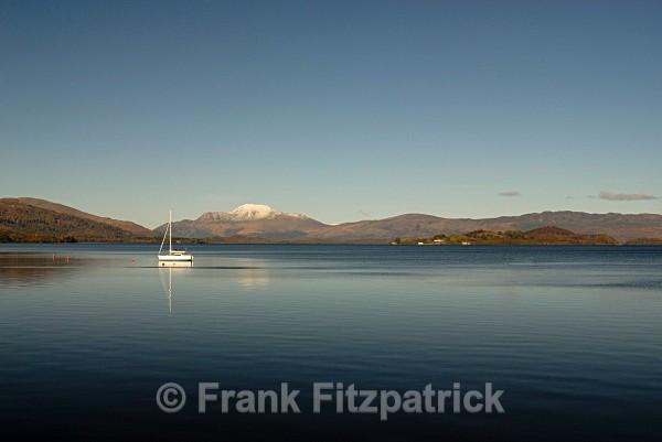 Loch Lomond from Duck Bay - Scottish scenics