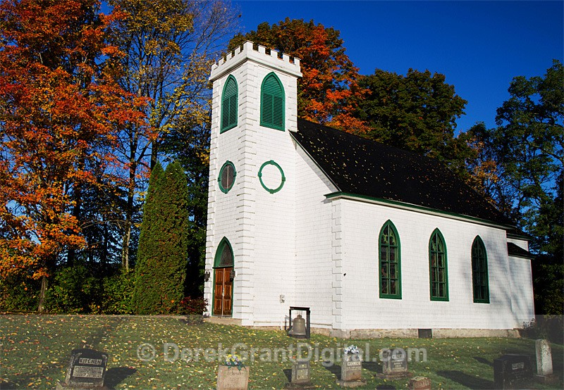 St. Peter's Anglican Church & Cemetery Woodstock Rd. Fredericton NB - Churches of New Brunswick