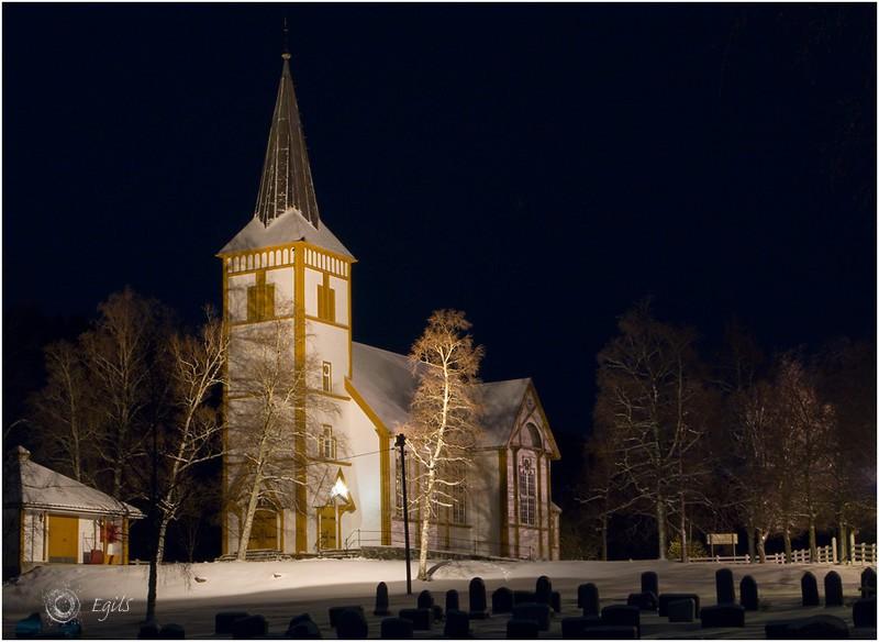 Røvik kirke 20090107-IMG_0782 - Kirker