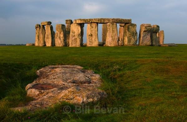Stonehenge Slaughter Stone - Stonehenge