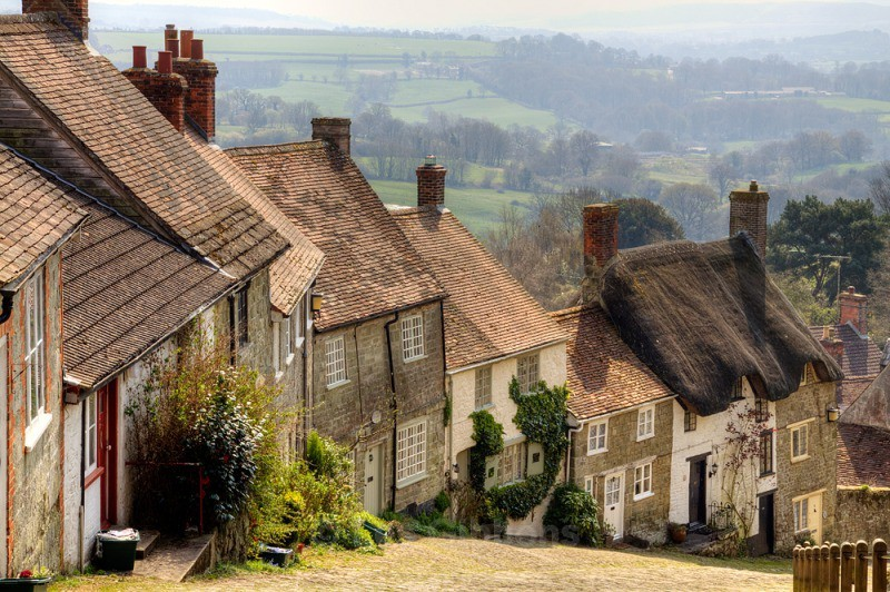 Gold hill - Dorset and the west country