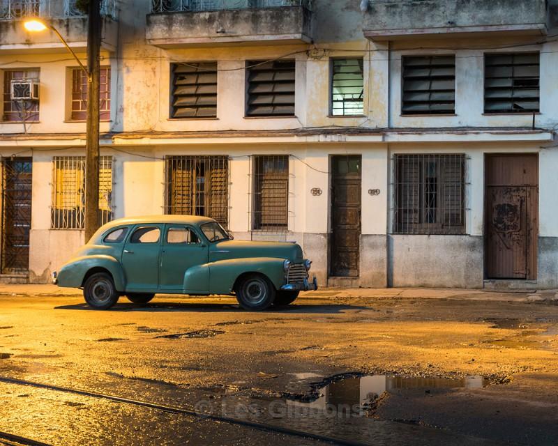 under the lamplight - Cuba