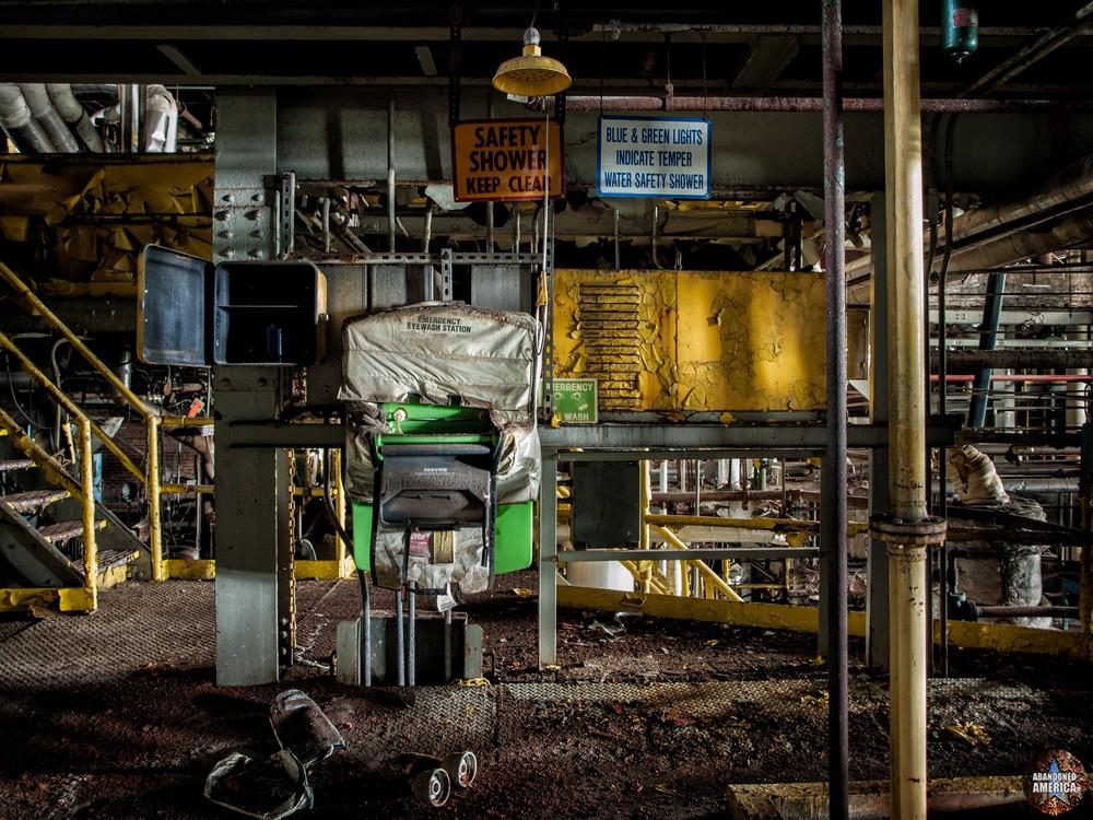 Buffalo Color Corporation | Safety Shower - Buffalo Color Corporation