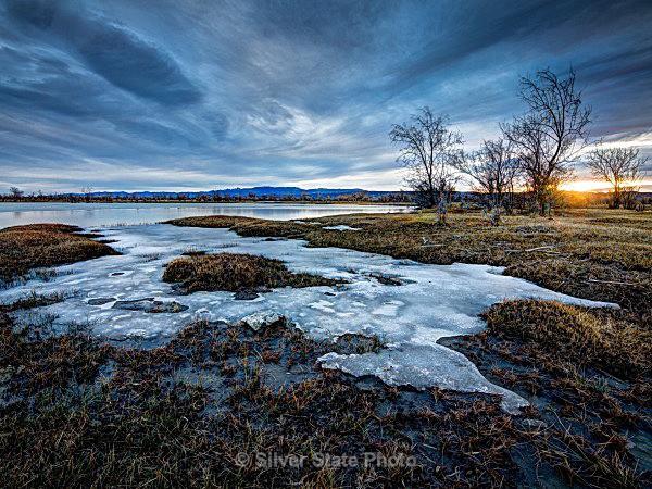 Harmon Reservoir Sunrise #3 - Nevada (mostly) Landscapes