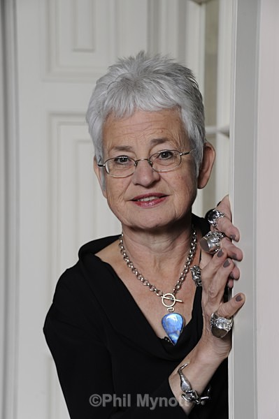 Portrait Photographer Uk  Dame Jacqueline Wilson