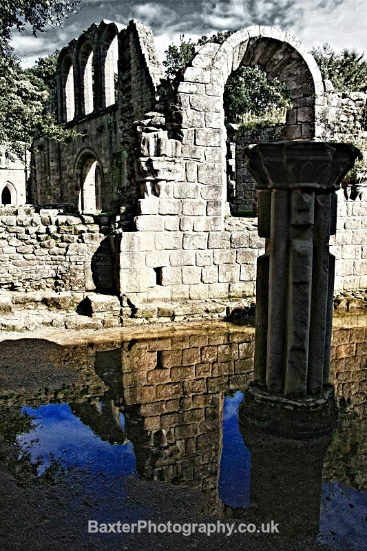 Ruins And Reflections (V) - Fountains Abbey