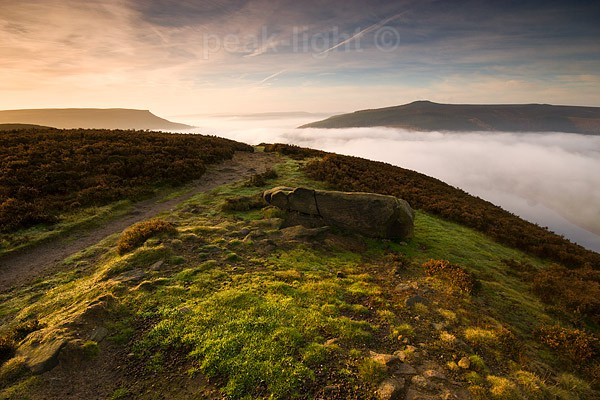 Mist over Ladybower - Peak District