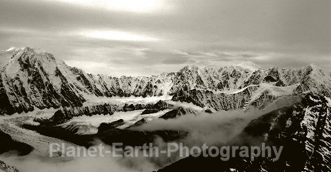Hubbard Glacier - Panoramic