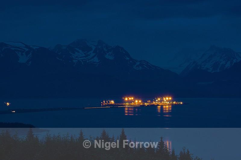 Homer Spit & Kachemak Bay from Skyline Drive - Alaska, USA