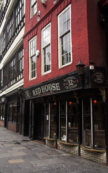 red house - Newcastle