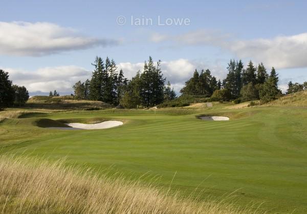 Gleneagle PGA 3rd Approach - Gleneagles PGA Course - 2014 Ryder Cup host course