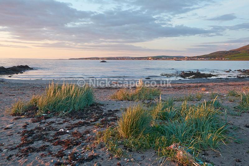 Woodlands Bay towards Girvan - Ayrshire Coast - Scotland
