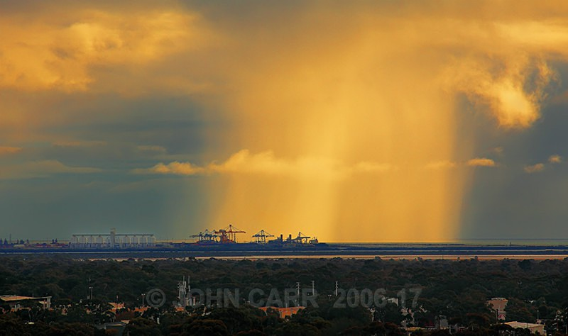 Outer Harbour Rain-Shaft-1917 - THE STARS AND STORMY WEATHER PHOTOS
