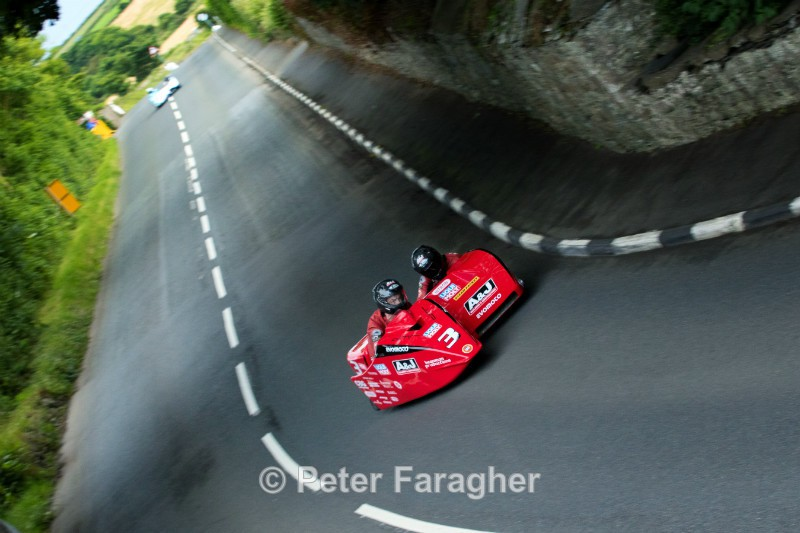 Dave Molyneux and Dan Sayle - Southern 100 Road Races