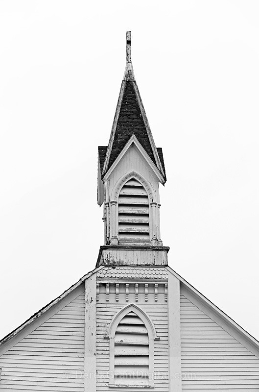 St. Patrick's Catholic Church Steeple ~ Golden Grove, New Brunswick - Churches of New Brunswick