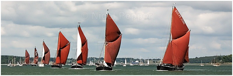 Line Of Sail (1) - The Pin Mill Barge Match