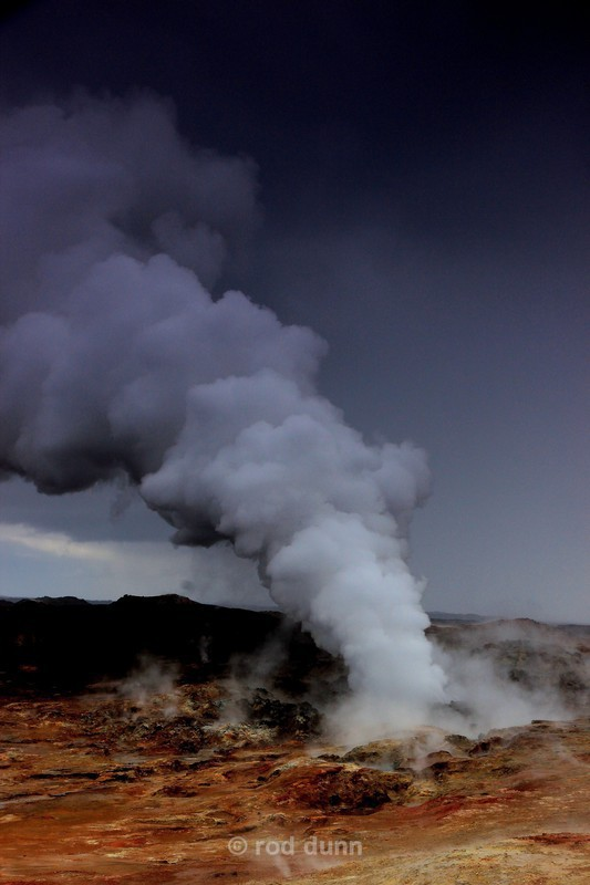 Gunnuhver geothermal vent 2 - Iceland