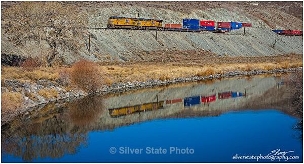 Train Reflection - 'Variety'