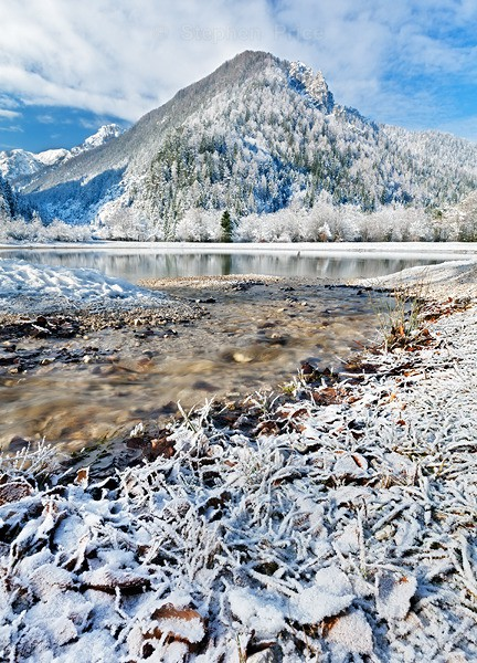 Slovenia Winter Photography | Ice Mountains and Snow