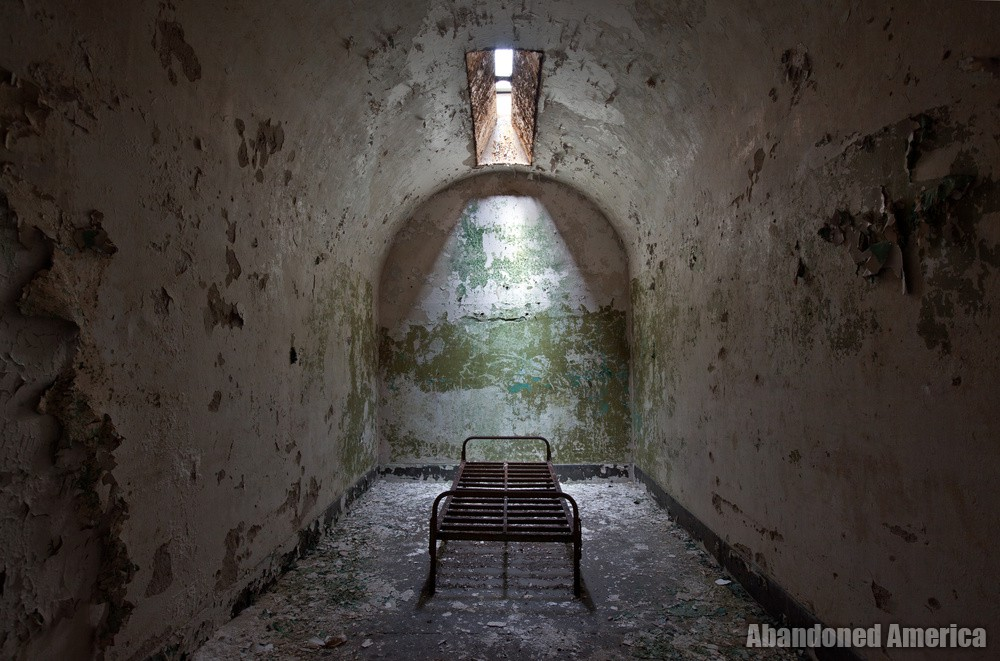 'the dream of release', Holmesburg Prison, Philadelphia PA   Abandoned America by Matthew Christopher